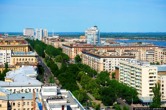 Volgograd from above, Russia, photo 2