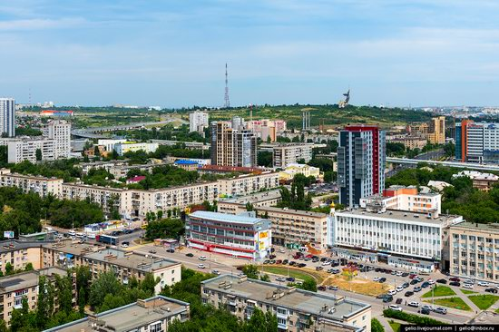 Volgograd from above, Russia, photo 24