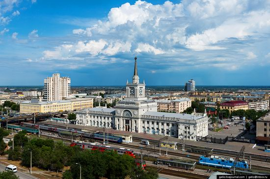 Volgograd from above, Russia, photo 4
