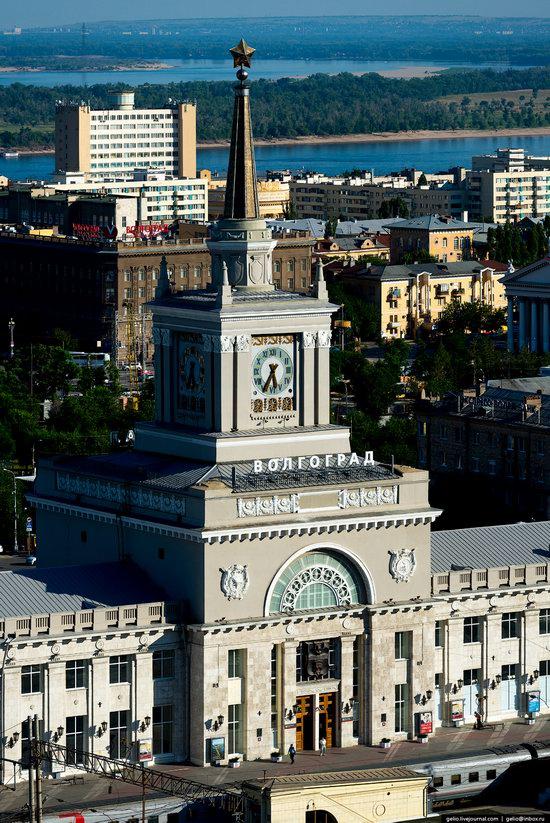Volgograd from above, Russia, photo 5