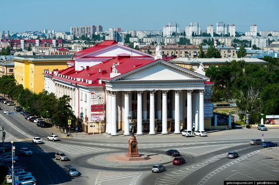 Volgograd from above, Russia, photo 7