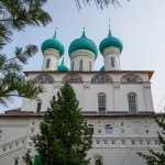 Beautiful Vvedenskiy Tolga Convent in Yaroslavl