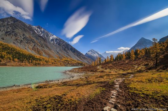 Golden autumn in the Altai Mountains, Russia, photo 3