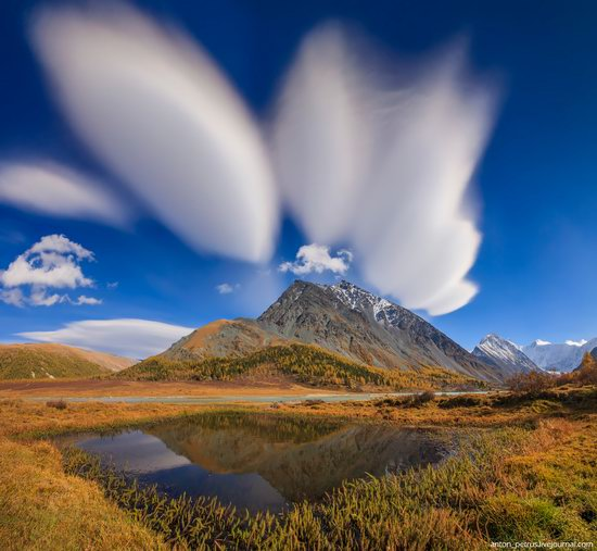 Golden autumn in the Altai Mountains, Russia, photo 9