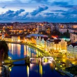 Kaliningrad – the view from above