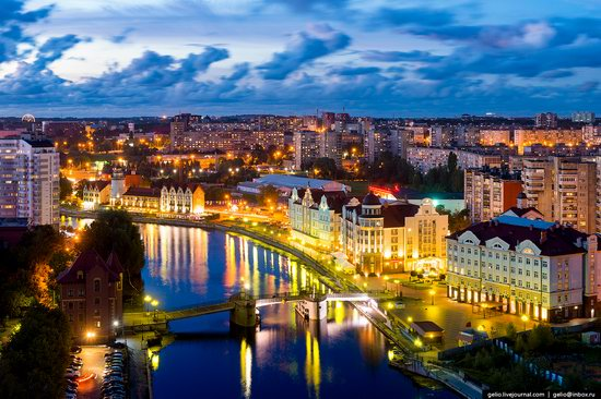 Kaliningrad from above, Russia, photo 1