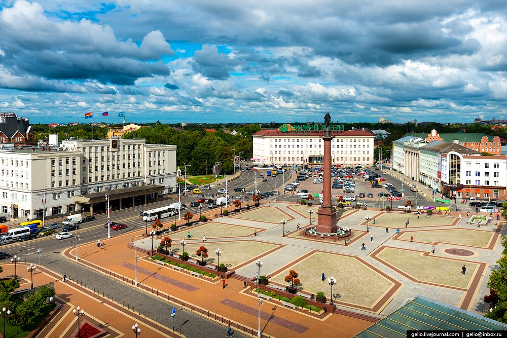 City Of South Gate >> Kaliningrad – the view from above · Russia travel blog