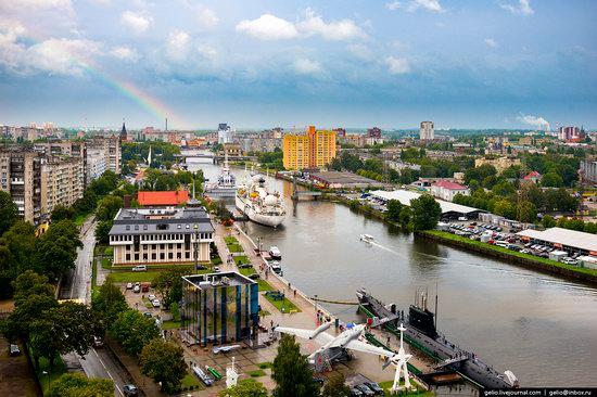 Kaliningrad from above, Russia, photo 18