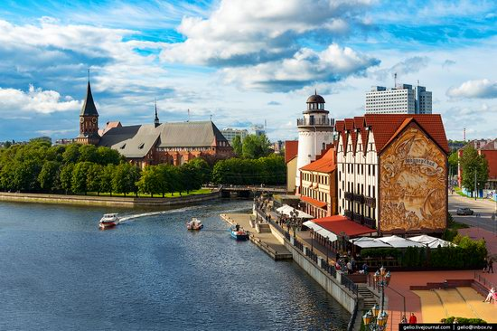 Kaliningrad from above, Russia, photo 2