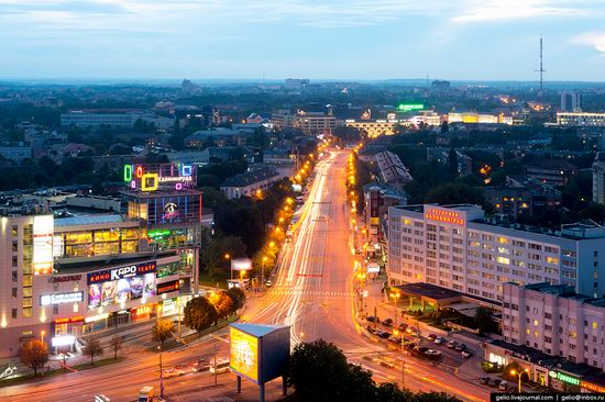 Kaliningrad from above, Russia, photo 20