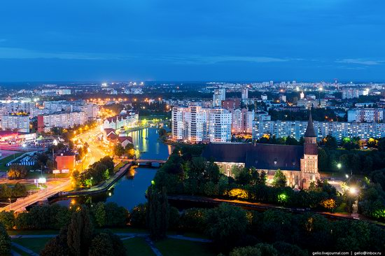 Kaliningrad from above, Russia, photo 3