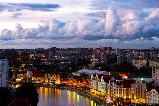 Kaliningrad from above, Russia, photo 30