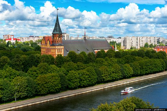 Kaliningrad from above, Russia, photo 4