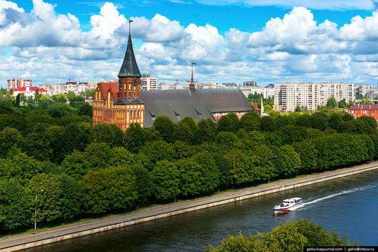 Kaliningrad from above, Russia, photo 4