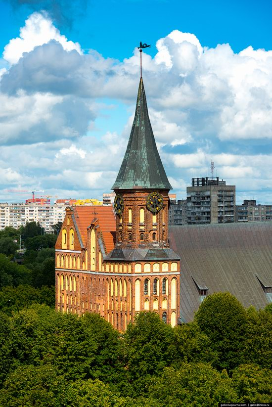 Kaliningrad from above, Russia, photo 5