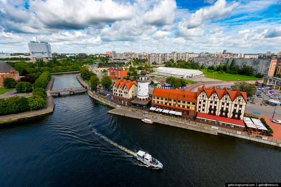 Kaliningrad from above, Russia, photo 6
