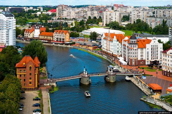 Kaliningrad from above, Russia, photo 9