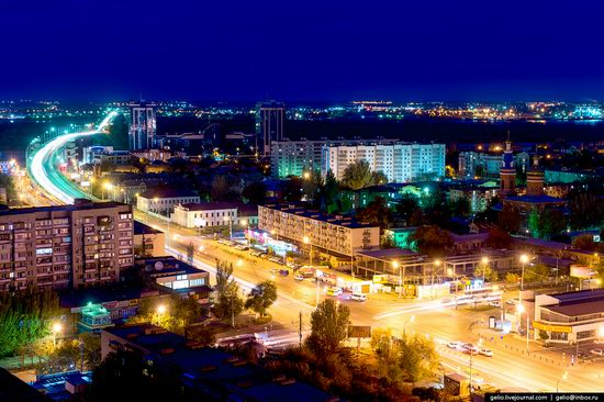 Astrakhan from above, Russia, photo 14