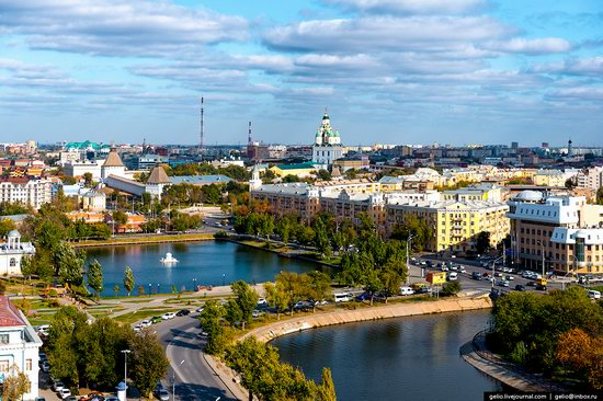 Astrakhan from above, Russia, photo 2