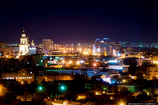 Astrakhan from above, Russia, photo 3
