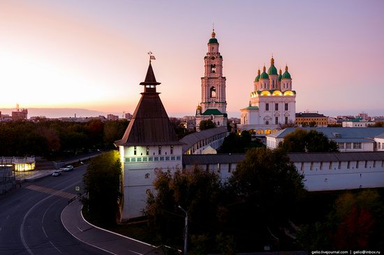Astrakhan from above, Russia, photo 5