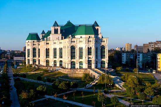 Astrakhan from above, Russia, photo 6