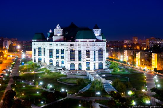 Astrakhan from above, Russia, photo 7
