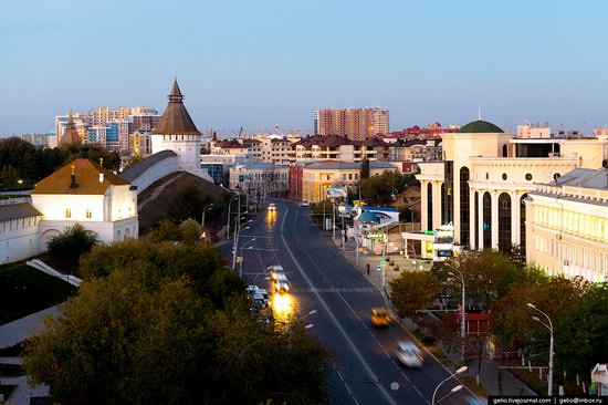 Astrakhan from above, Russia, photo 8