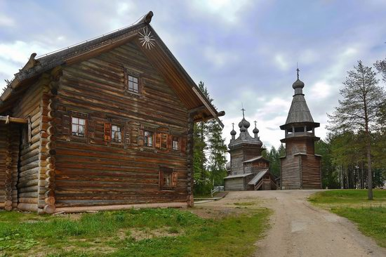 Wooden Architecture Museum Malye Korely, Russia, photo 1
