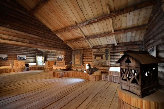 Wooden Architecture Museum Malye Korely, Russia, photo 10