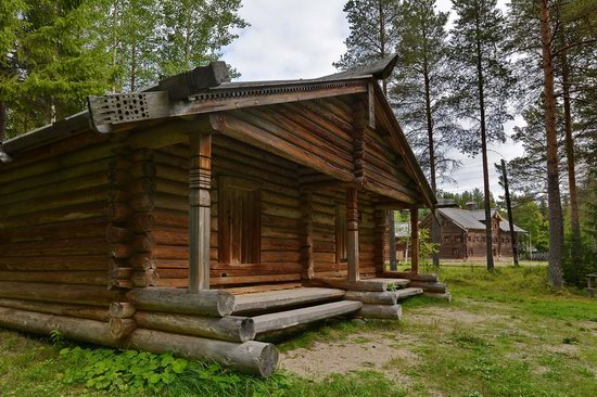Wooden Architecture Museum Malye Korely, Russia, photo 12
