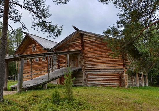 Wooden Architecture Museum Malye Korely, Russia, photo 13