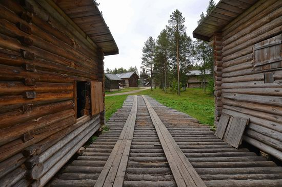 Wooden Architecture Museum Malye Korely, Russia, photo 14