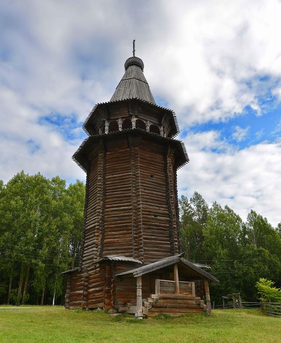 Wooden Architecture Museum Malye Korely, Russia, photo 16