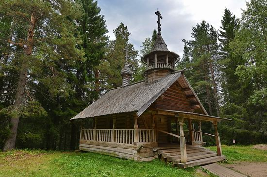 Wooden Architecture Museum Malye Korely, Russia, photo 17