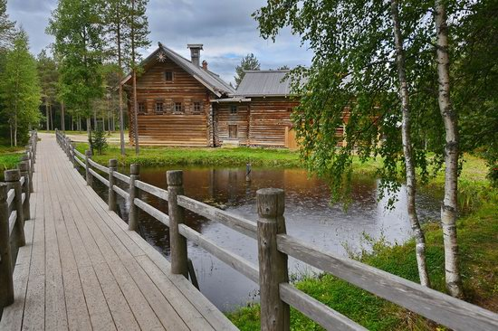 Wooden Architecture Museum Malye Korely, Russia, photo 18