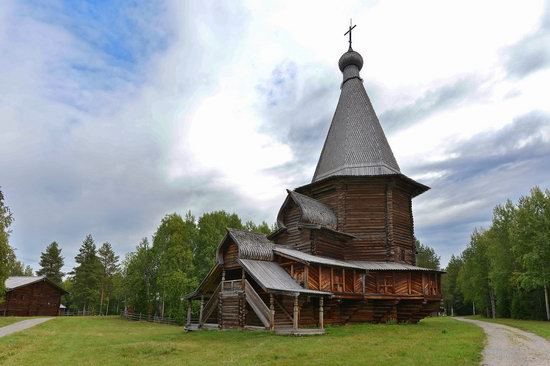 Wooden Architecture Museum Malye Korely, Russia, photo 19