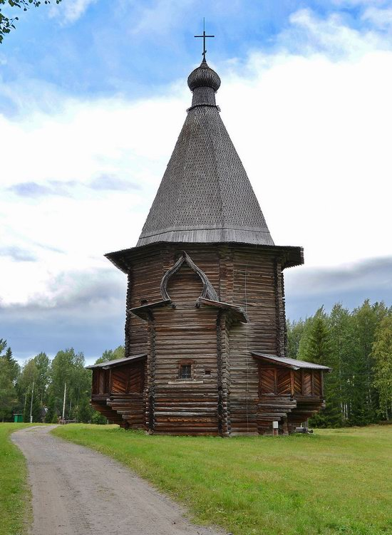 Wooden Architecture Museum Malye Korely, Russia, photo 20