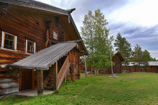 Wooden Architecture Museum Malye Korely, Russia, photo 21