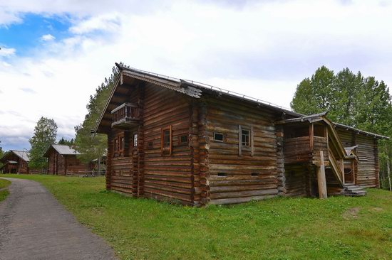 Wooden Architecture Museum Malye Korely, Russia, photo 23