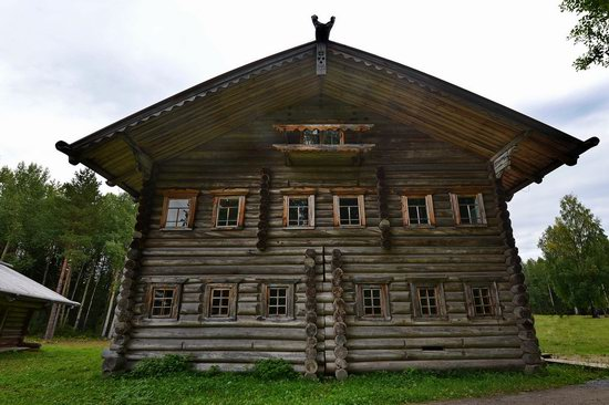 Wooden Architecture Museum Malye Korely, Russia, photo 24