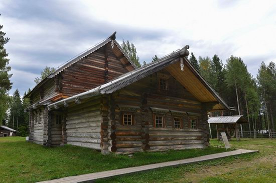 Wooden Architecture Museum Malye Korely, Russia, photo 25