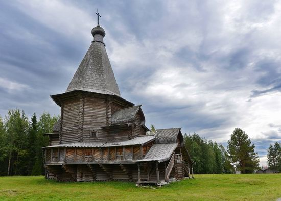 Wooden Architecture Museum Malye Korely, Russia, photo 26
