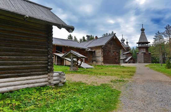 Wooden Architecture Museum Malye Korely, Russia, photo 3
