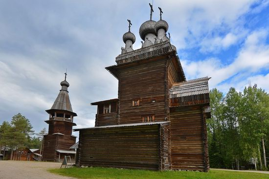Wooden Architecture Museum Malye Korely, Russia, photo 6