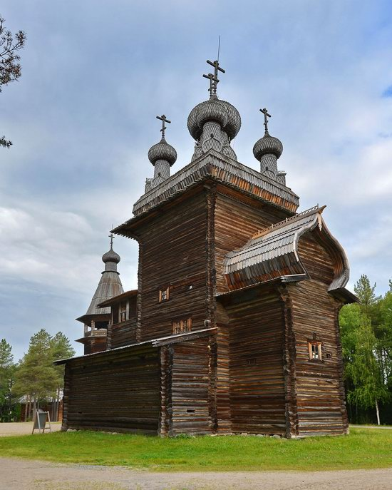 Wooden Architecture Museum Malye Korely, Russia, photo 7