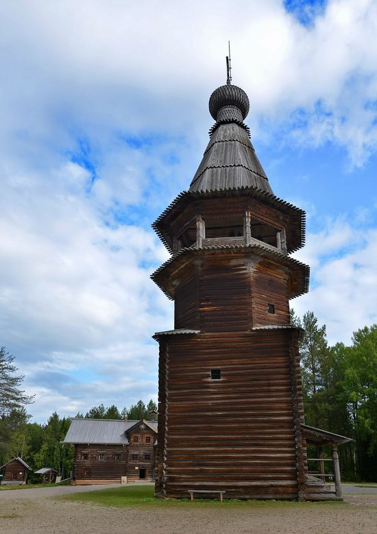 Wooden Architecture Museum Malye Korely, Russia, photo 8