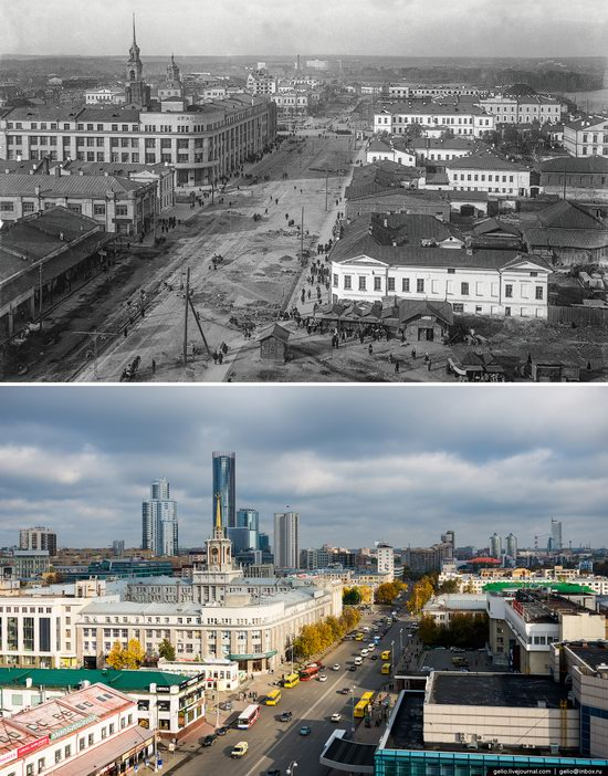Ekaterinburg: Then and Now, Russia, photo 10