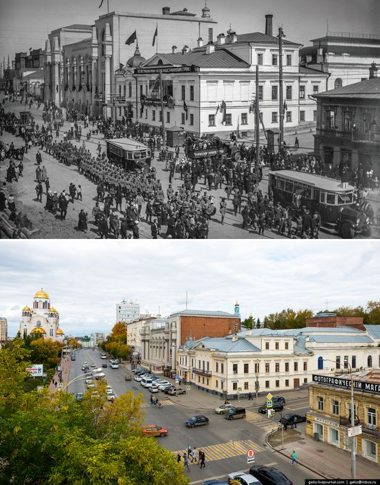 Ekaterinburg: Then and Now, Russia, photo 13
