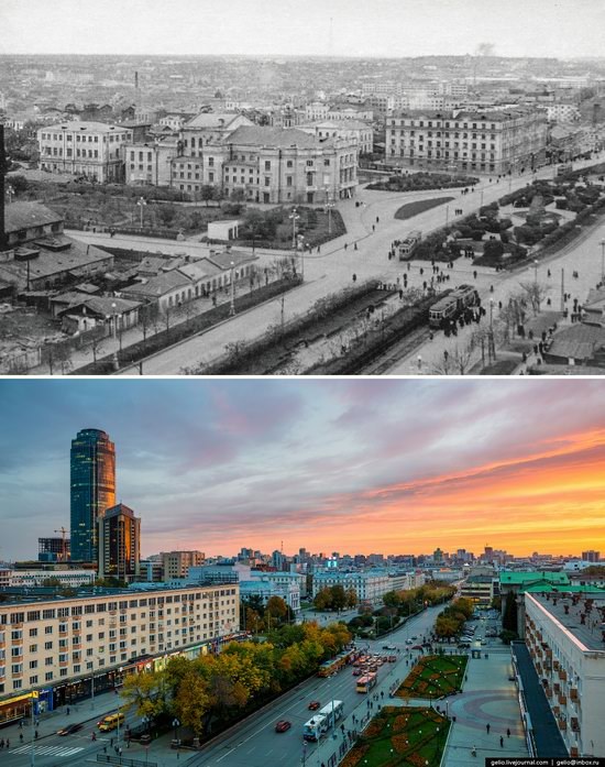 Ekaterinburg: Then and Now, Russia, photo 17